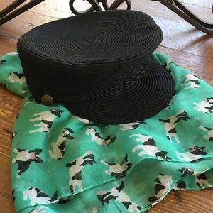 NWOT Vince Camuto Woven Women's Captain Hat
